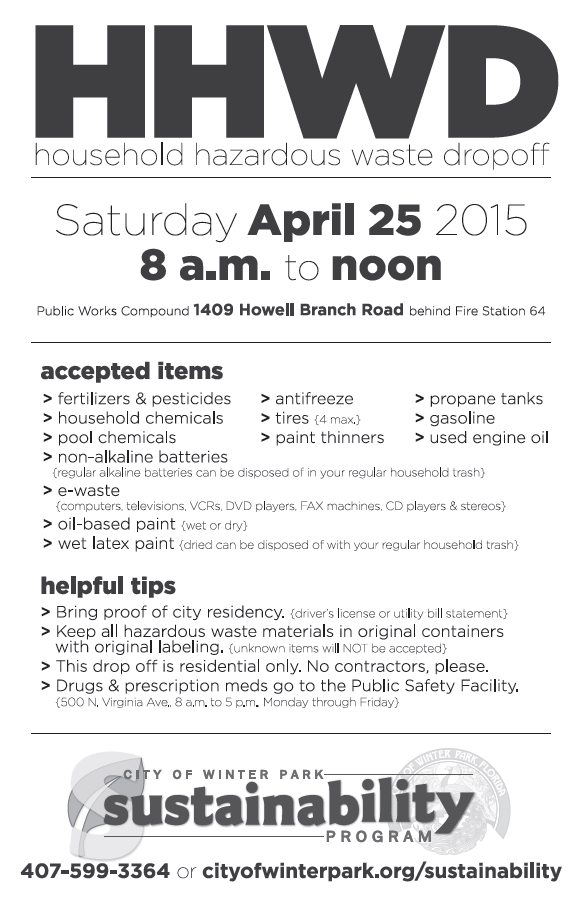 Winter Park Recycling Apr 2015