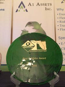 NAHMMA 2015 Award
