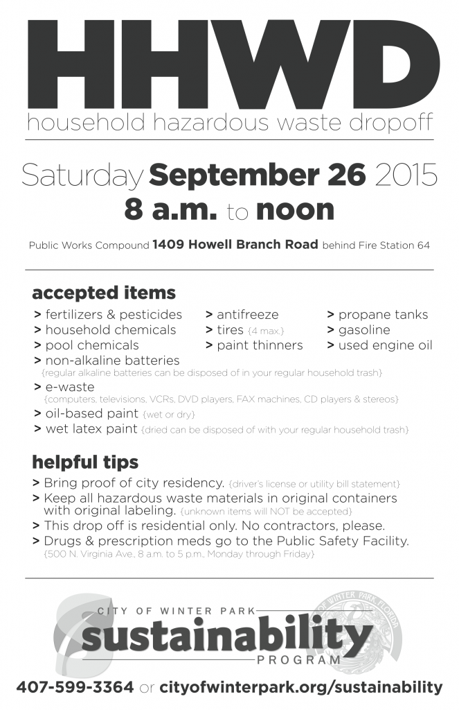 Winter Park Recycling Sept 2015